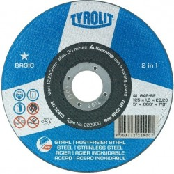 Tyrolit disco premium  125x1 2 en 1 34332792