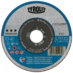 Tyrolit disco Cerabond T41 2 en 1 34241345