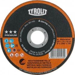 Tyrolit disco premium aluminio 2 en 1 125x1 257533